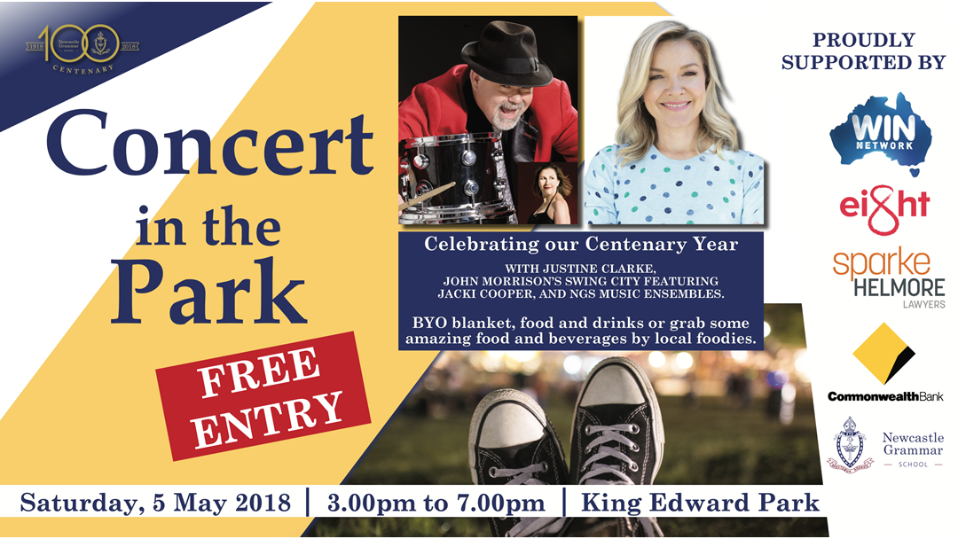 Article heading image for Newcastle Grammar School's Concert in the Park.