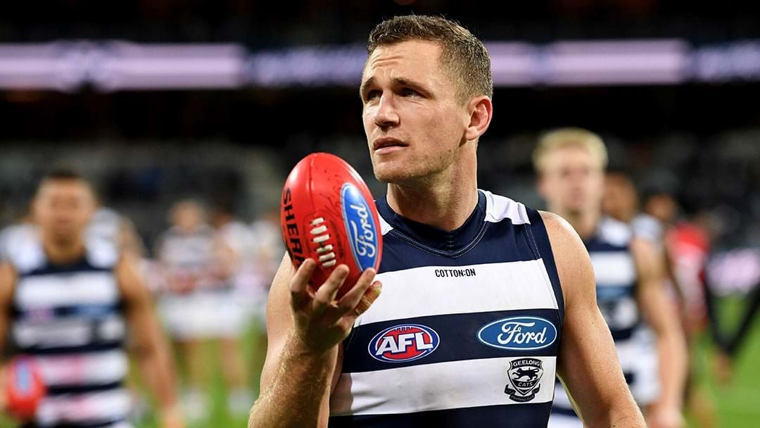 "Article heading image for Joel Selwood Says Collingwood Are ""The Frontrunners"" For 2019"