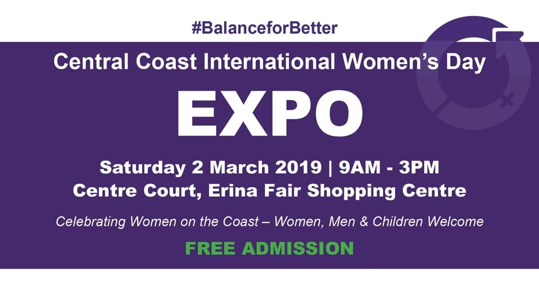 Article heading image for Central Coast International Womens Day Expo!