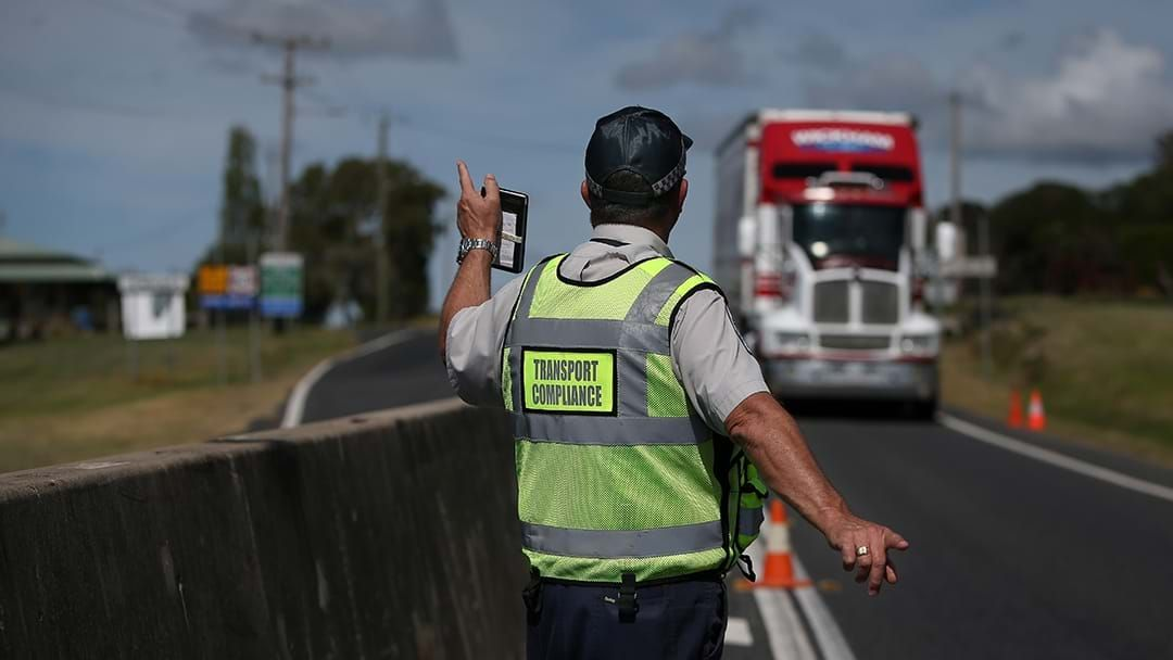 Article heading image for Crackdown On Truck Drivers Entering Through Queensland Border