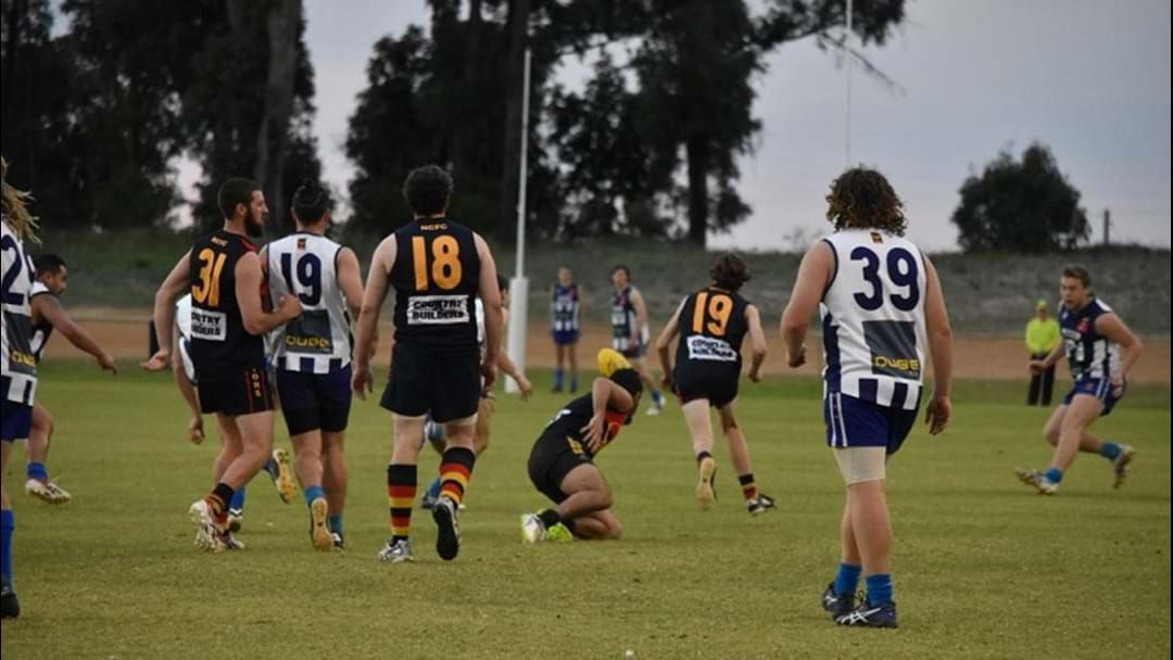 Article heading image for PENULTIMATE round of LOCAL FOOTY provides plenty of ENTERTAINMENT