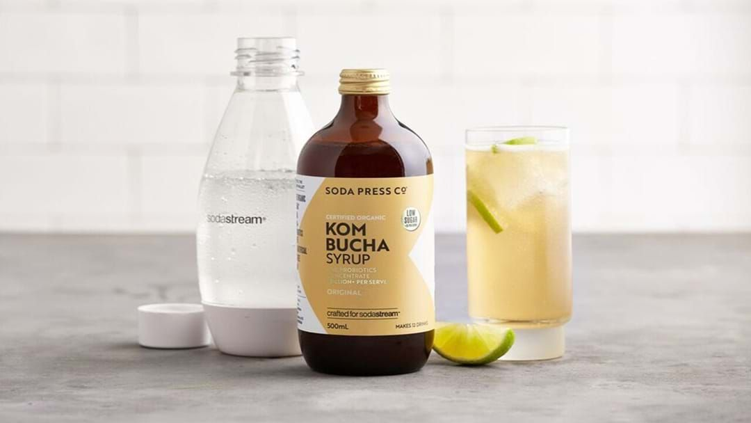 Article heading image for Everyone Stop, Soda Stream Kombucha Is Now A Thing