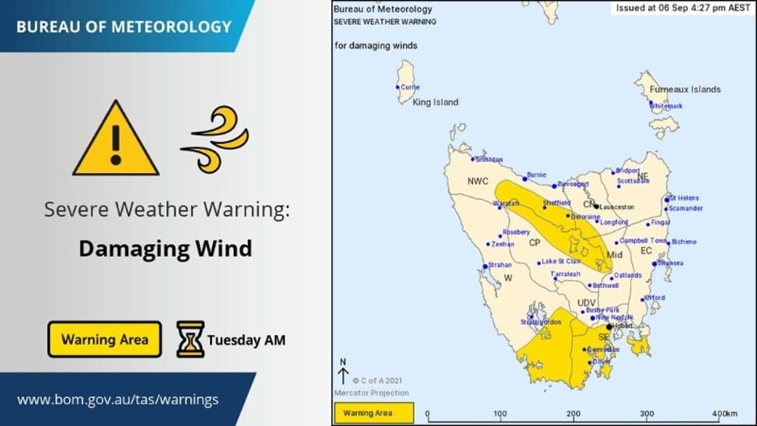 Article heading image for South-East Tasmania Braces For More Wild Weather