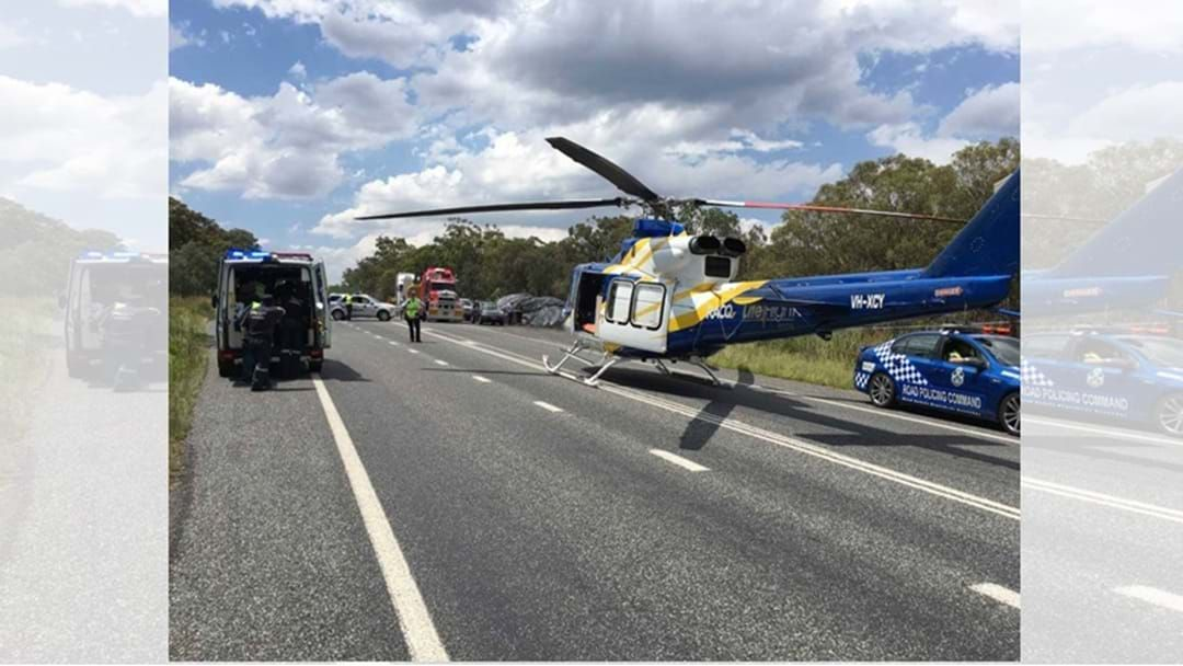 Article heading image for Five People Injured in Multi-vehicle accident in Dalveen