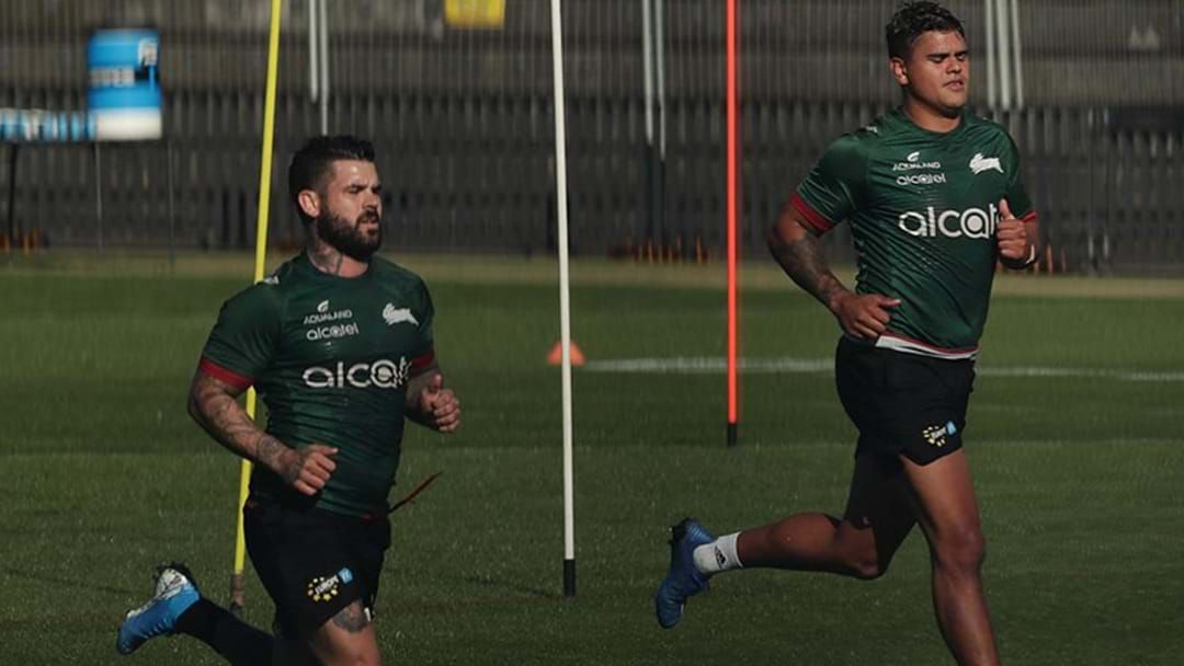 """Article heading image for Adam Reynolds Says Latrell Mitchell Has """"Trained The House Down"""" Ahead Of Roosters Blockbuster"""