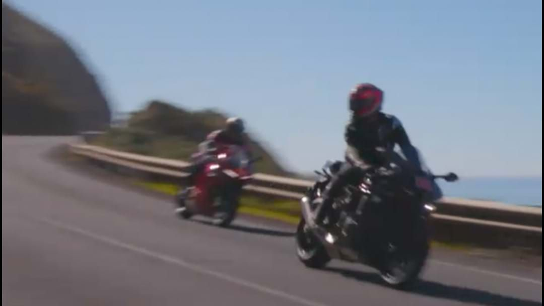Article heading image for The Great Ocean Road Was Closed Due To Unlicensed Moto GP Riders