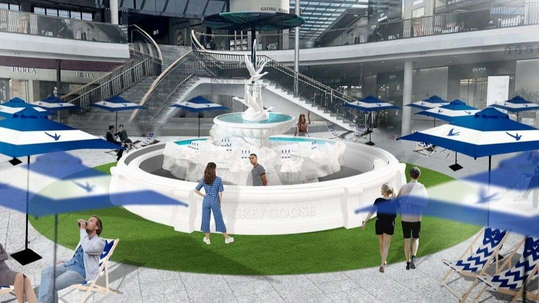 Article heading image for Grey Goose Vodka Is Launching A 'Fountain of Goose' Pop-Up Bar!
