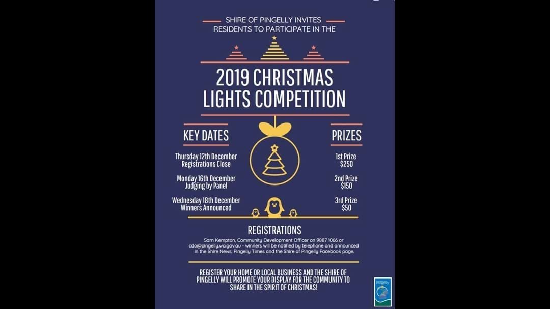Article heading image for Pingelly Xmas Lights Comp