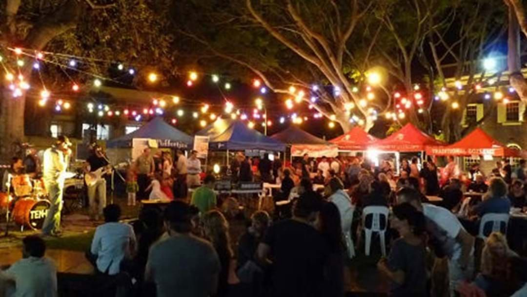 Article heading image for Dine Down Town Street Food Markets