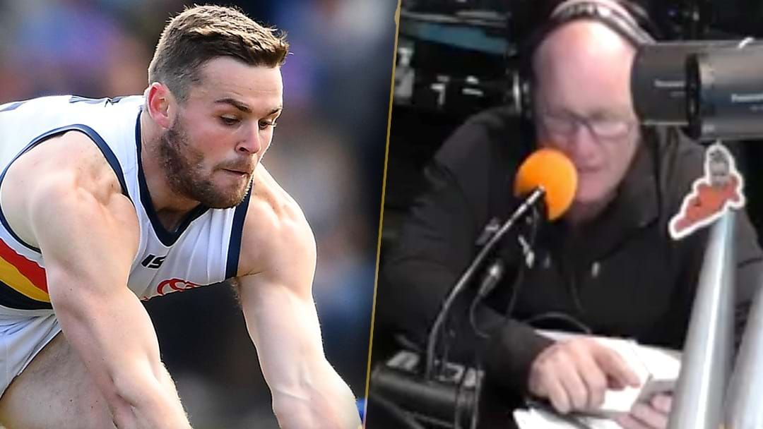 "Article heading image for LISTEN | ""Load Of Crap"": Jars Reads Text From Brad Crouch Clarifying Trade Rumour"