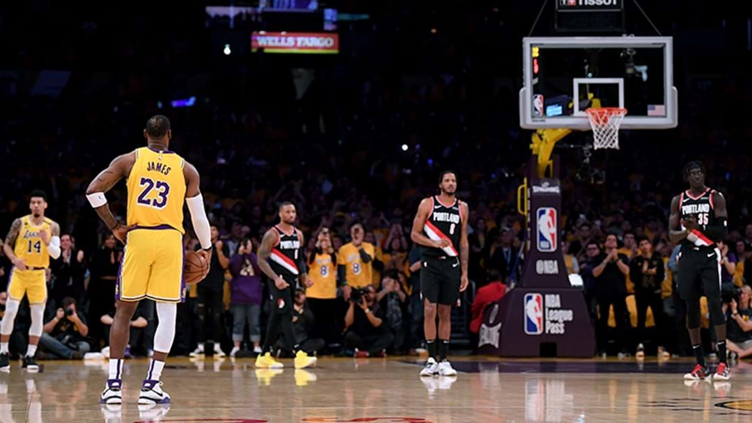 Article heading image for NBA Season Suspended Following Tonight's Games