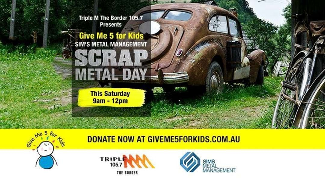 Your Scrap Metal Helps Sick Kids On The Border | Triple M