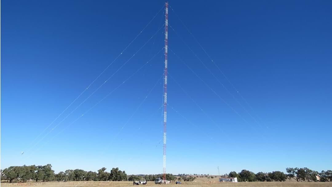 Article heading image for Triple M's New Mast