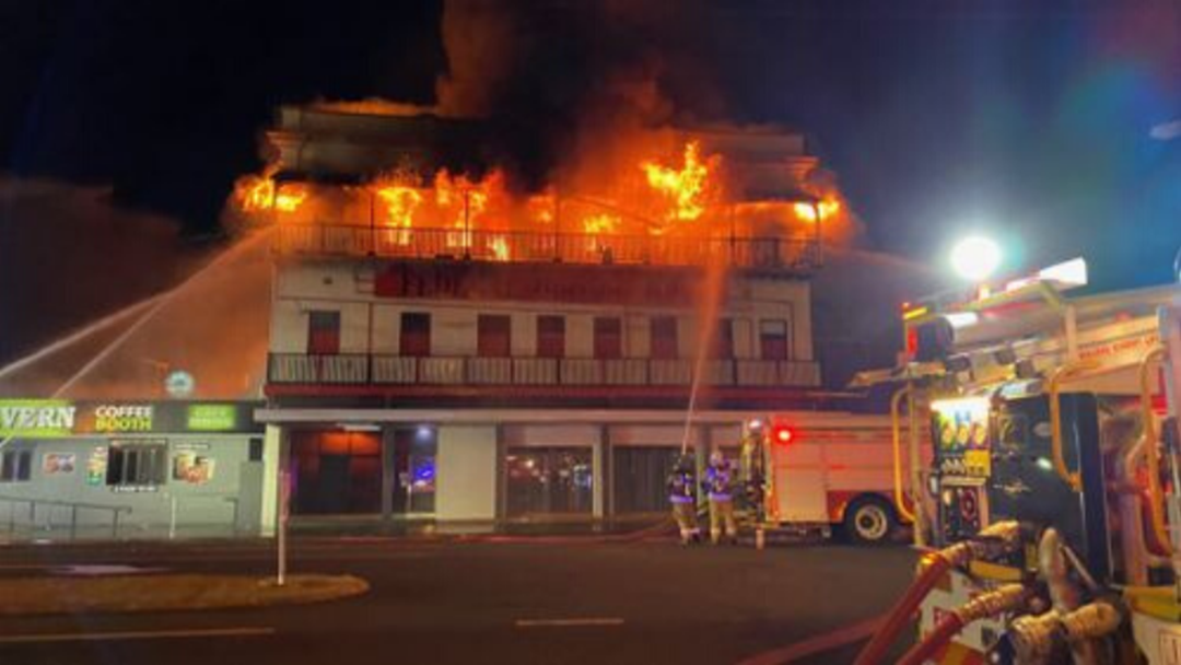 Article heading image for Bundy Pub & Hotel in Fire Emergency