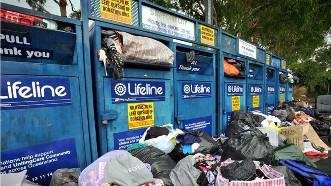 Article heading image for Charity Bins Being Used as Dumping Grounds