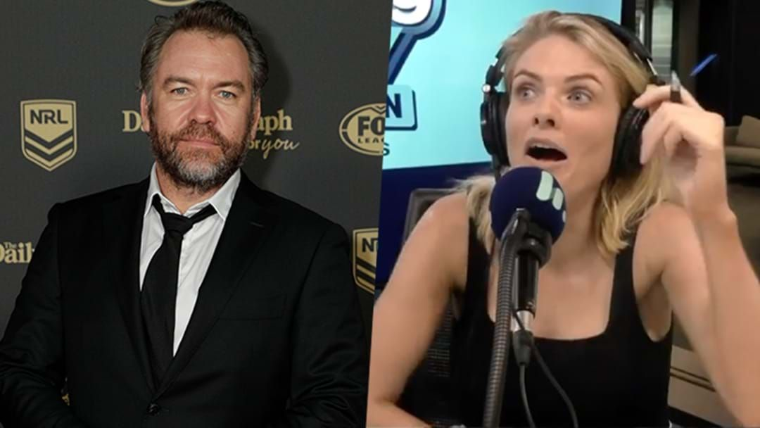 Article heading image for Erin Molan's Acting Career Is Crushed After A Hilarious Fail With Brendan Cowell