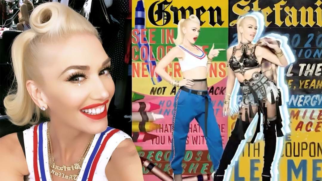 Article heading image for Gwen Stefani Reintroduces Herself With New Tune