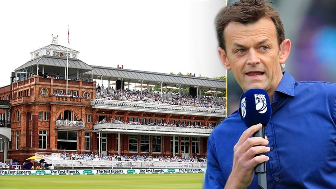 Article heading image for Adam Gilchrist's Hilarious Bathtub Story About His First Ashes Tour To Lord's