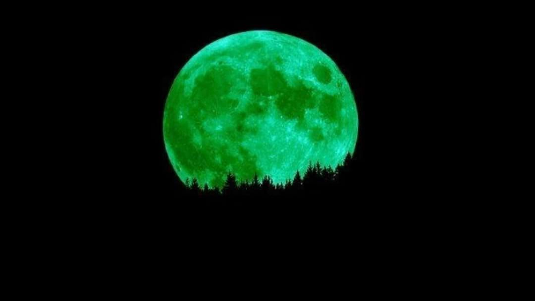 Article heading image for No, The Moon Isn't Going To Be Green Tonight