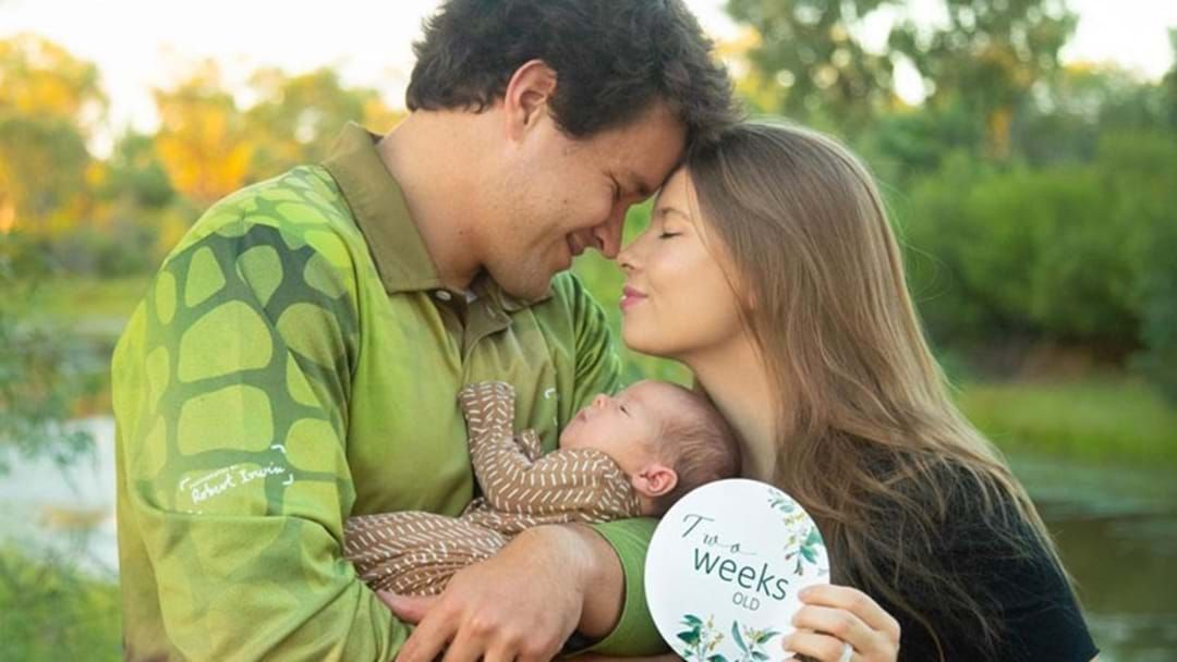 Article heading image for Bindi Irwin's 1-Month-Old Daughter Has Received Her First Khakis!