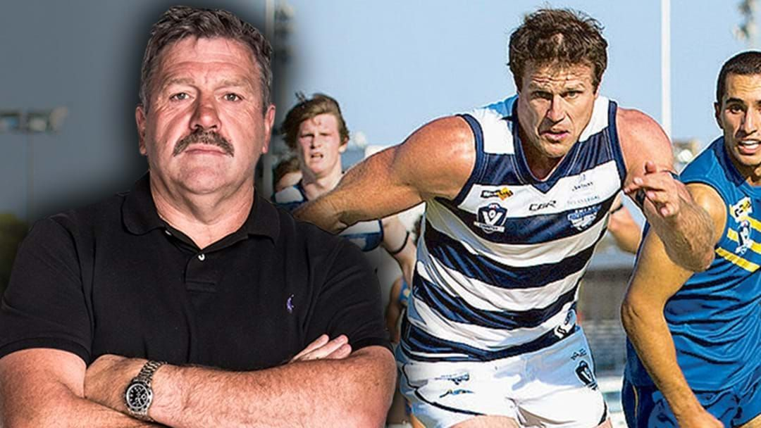 Article heading image for Brian Taylor Reveals Campbell Brown's Horror Return To Local Footy
