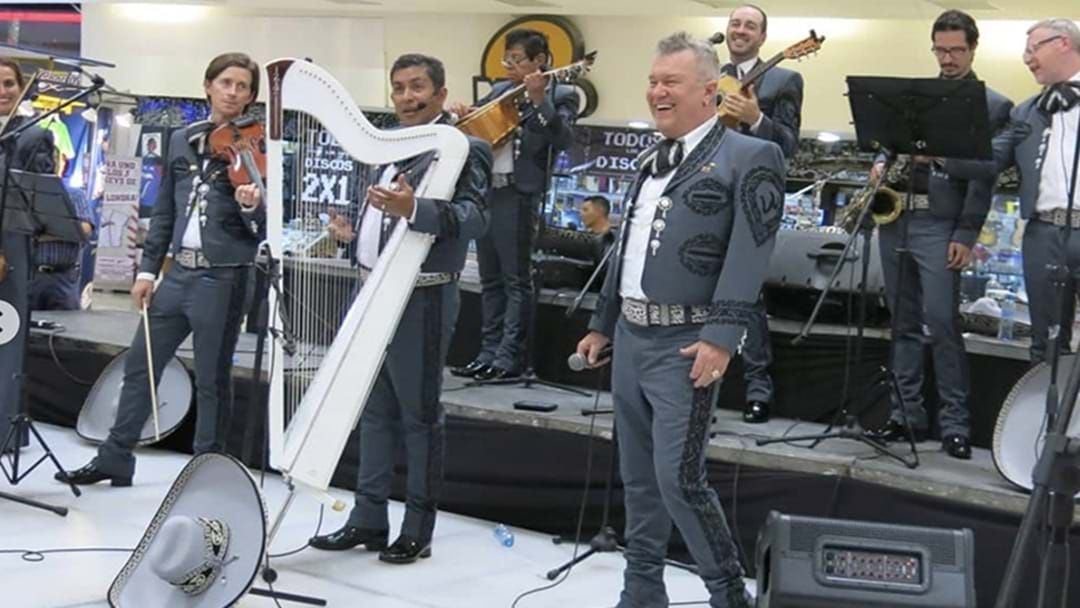 Article heading image for Jimmy Barnes: The Mariachi Man