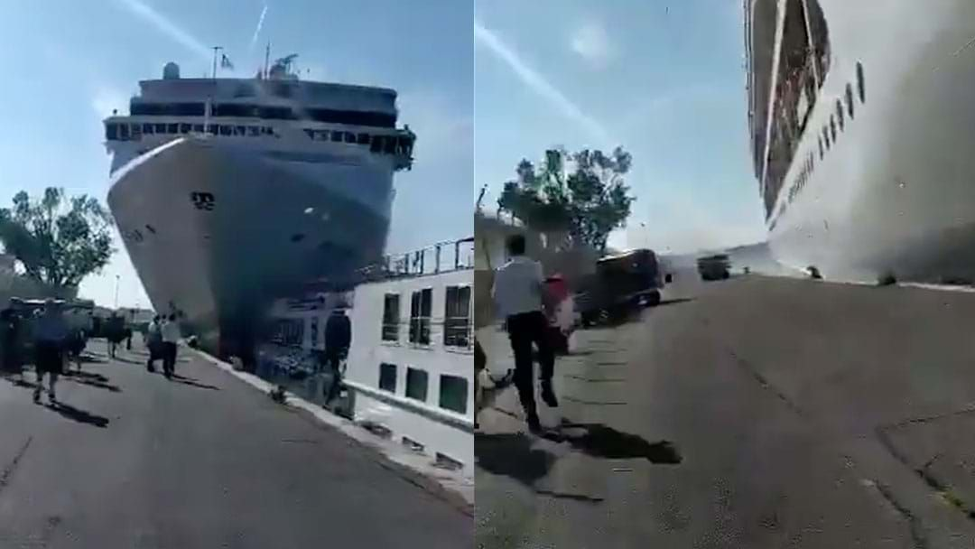 Article heading image for Cruise Ship Crash In Venice Leaves Four People Injured
