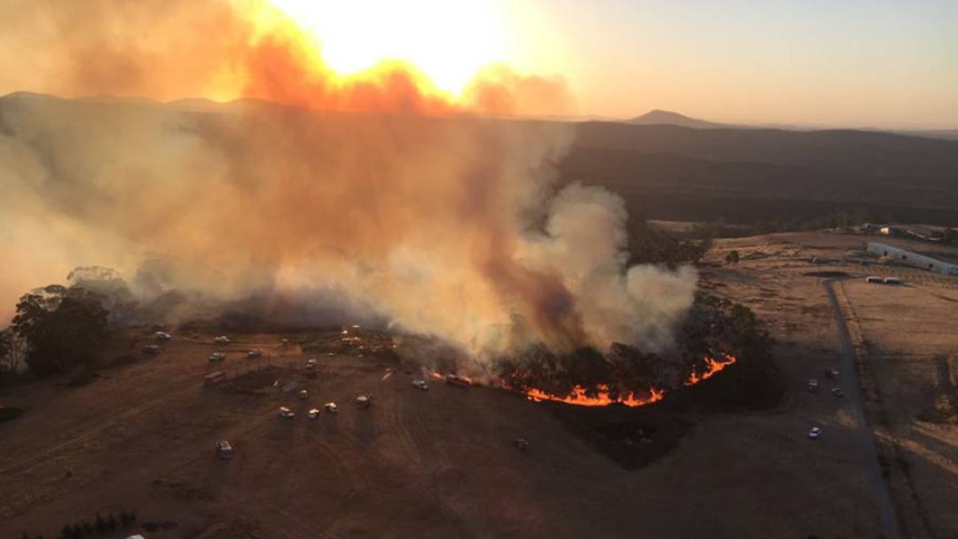 Article heading image for Hepburn Springs Fire Warning Downgraded To Watch And Act Alert
