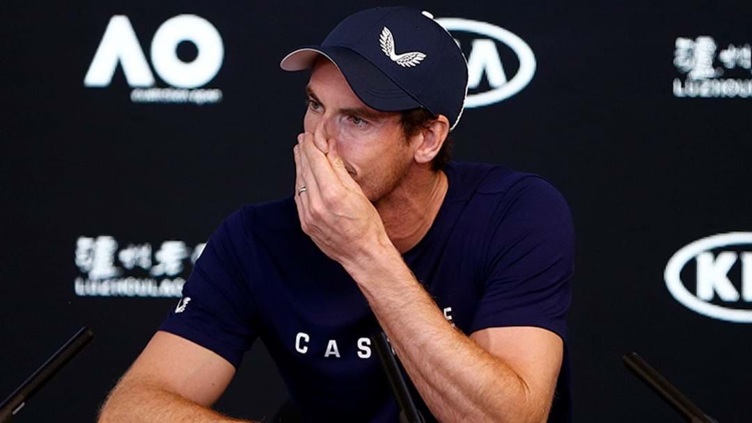 Article heading image for Andy Murray Announces He'll Retire This Year