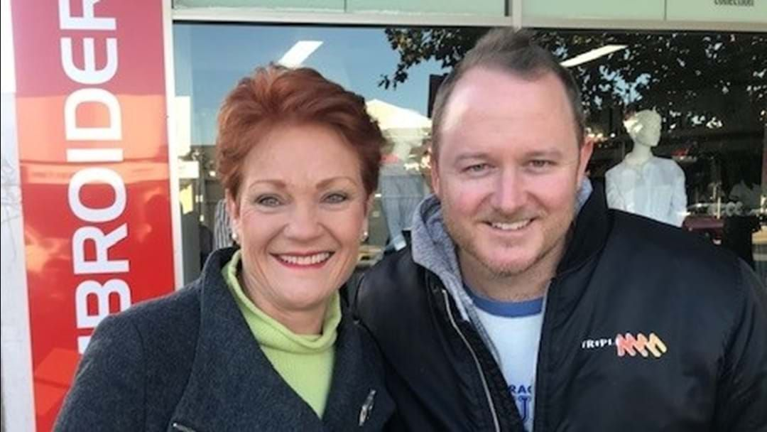 Article heading image for Pauline Hanson In Shepp? Must Be An Election!