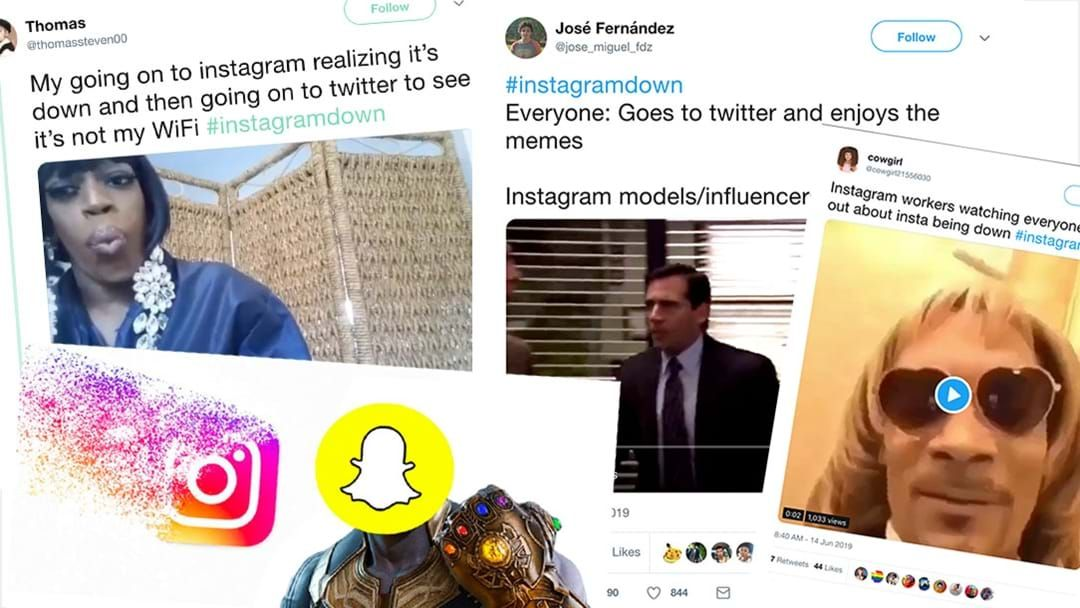 Article heading image for The Funniest Twitter Reactions To Instagram Being Down