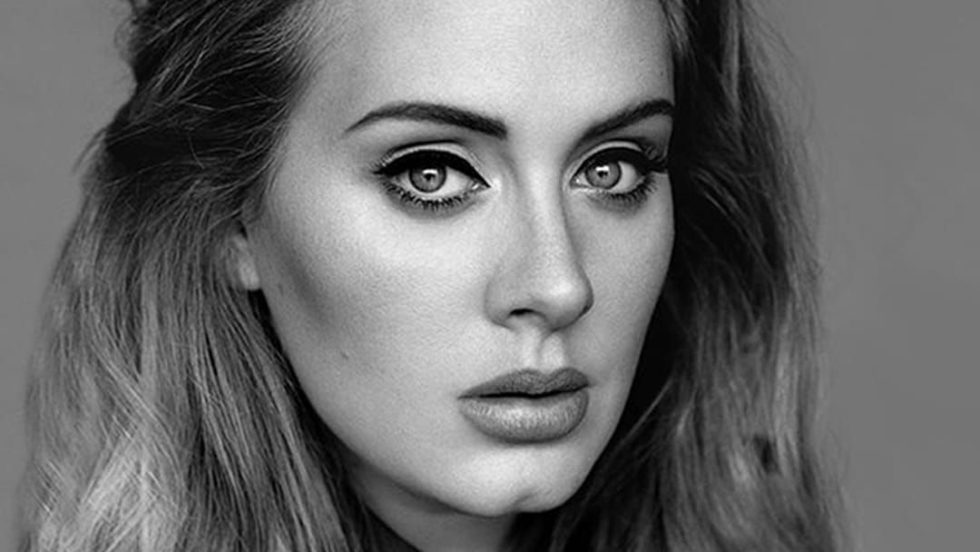Article heading image for Adele's Makeup Artist Lets Slip She's About To Announce Something