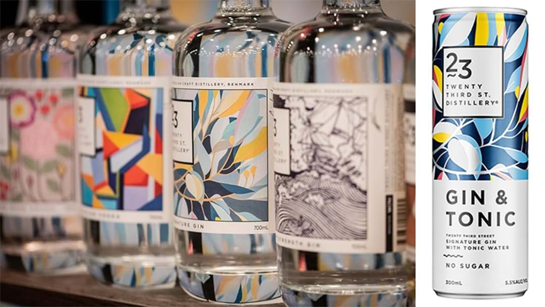 Article heading image for Bottoms Up, This Local Distillery Now Sells These Healthy G&T Cans