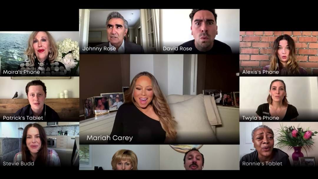 Article heading image for Mariah Carey Joins The Cast Of Schitt's Creek For A Sing-a-long!