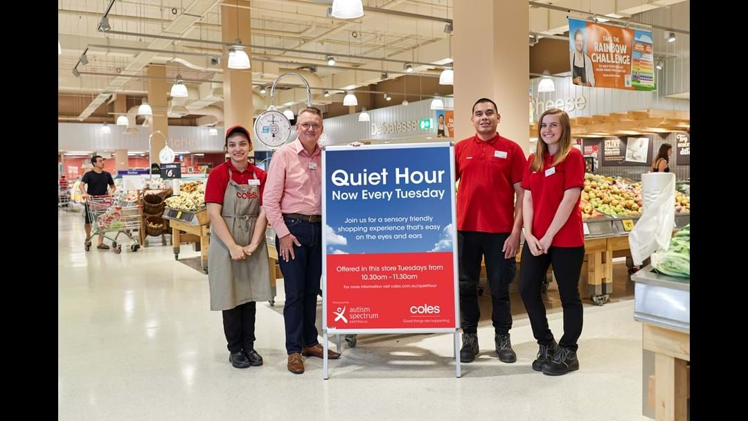 Article heading image for Wagga Coles now hosting Quiet Hour