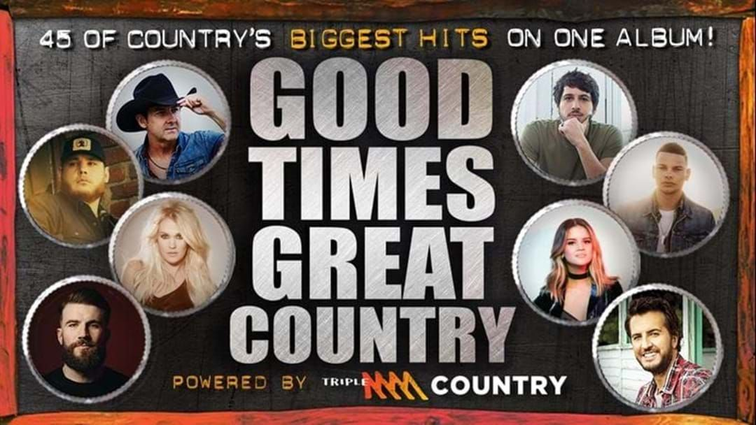 Article heading image for Good Times, Great Country Double CD – OUT NOW!