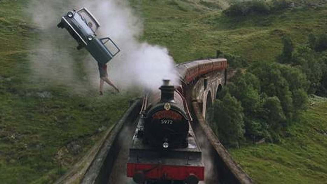 Article heading image for You Can Ride The Hogwarts Express In Scotland Right Now, So Book Your Flights!