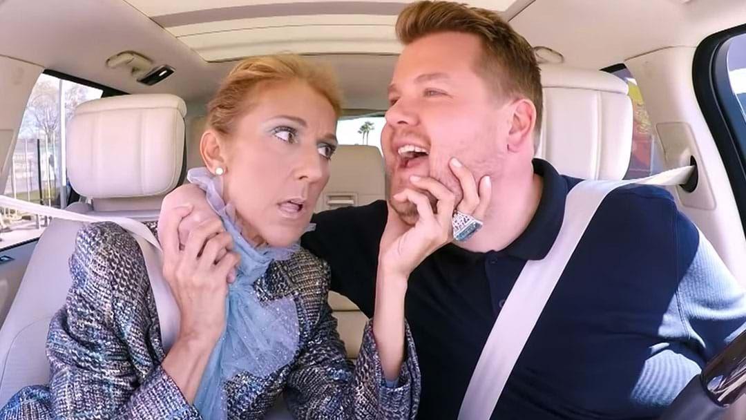 Article heading image for Céline Dion's Carpool Karaoke Is Equal Parts Fabulous & Insane