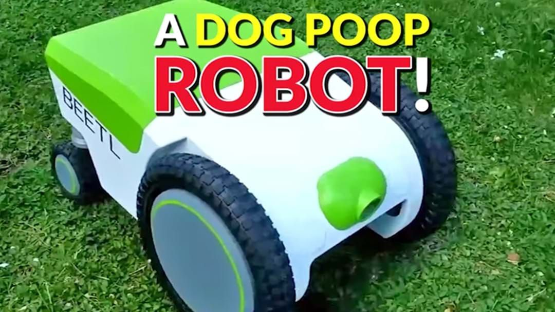 Article heading image for There's A Dog Sh*t Collecting Robot In The Works So Dog Owners, Get Excited!