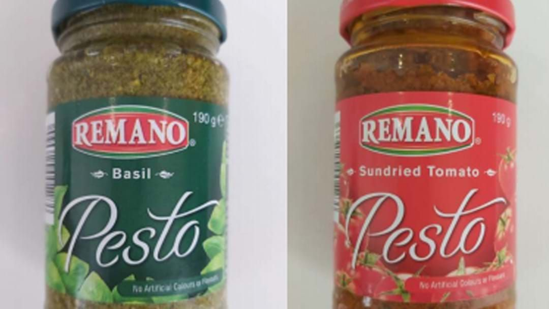 Article heading image for Two Popular Pesto Sauces Have Been Recalled Over Allergic Reaction Fears