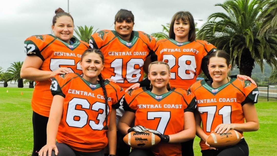Article heading image for Female Gridiron Team On The Central Coast