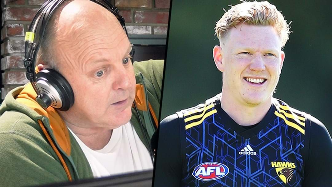 Article heading image for Billy Brownless Derails James Sicily Interview By Giving Him A Weird-Arse Nickname