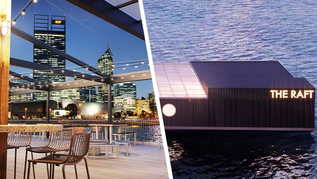Article heading image for Mark Your Calendars, Perth's First Floating Bar Is Ready To Host Your Post Iso Shenanigans