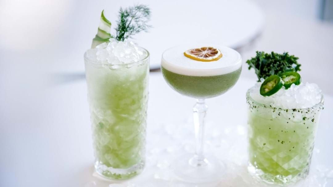 Article heading image for QT Gold Coast Stingray Lounge Introduces Green Cocktails Because #Healthy