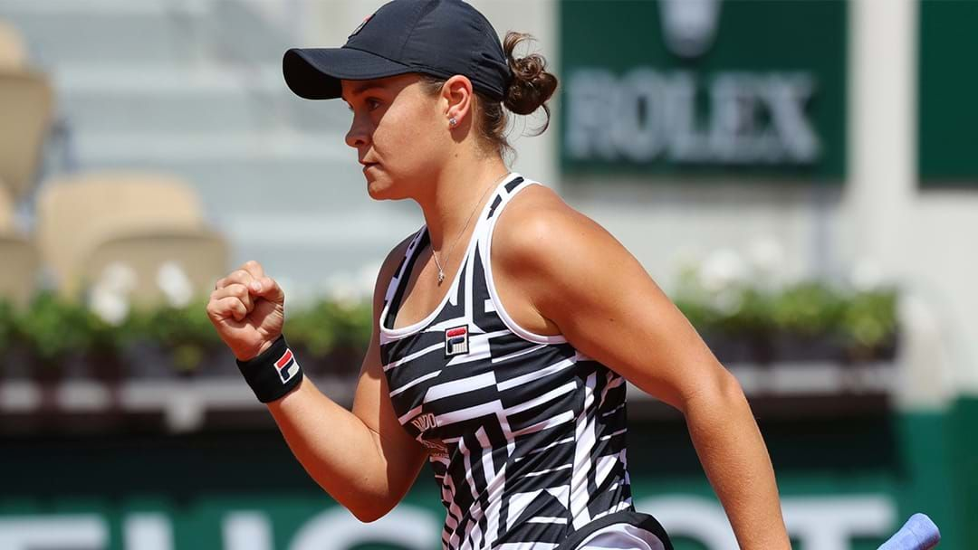 Article heading image for SBS Will Broadcast Ash Barty's French Open Semi-Final