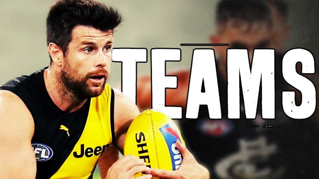 Article heading image for AFL Teams: Western Bulldogs vs. Richmond