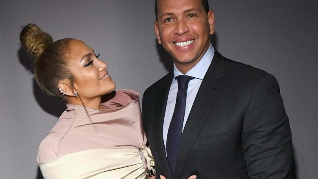 Article heading image for Jennifer Lopez And Alex Rodriguez Are Engaged… Making This JLO's 6th Engagement
