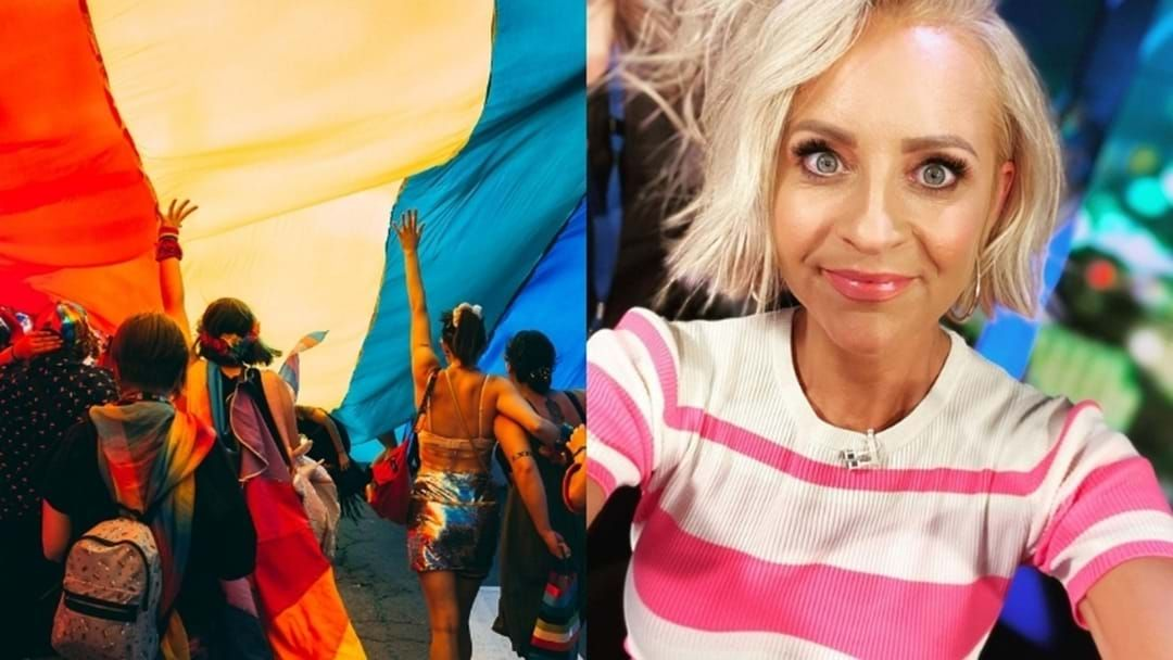 Article heading image for Carrie Bickmore Reveals She's Wearing An Outfit Designed By The Masked Singer For Mardi Gras!