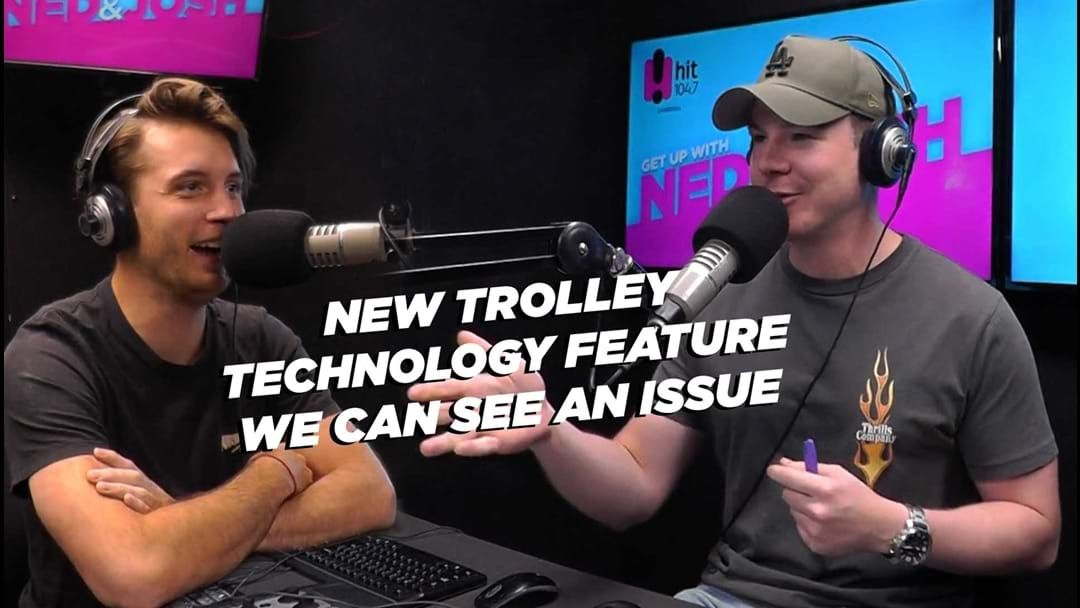 Article heading image for New trolley technology the boys see an issue with