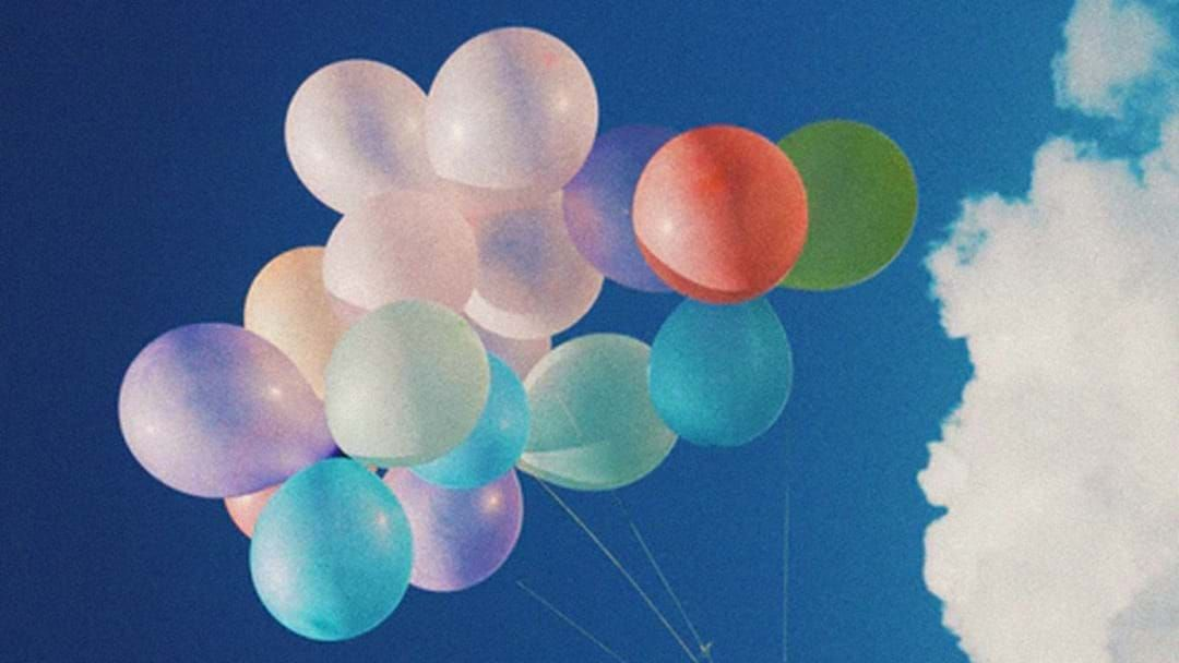 Article heading image for You Can Now Cop MASSIVE Fines For Releasing Helium Balloons In Victoria
